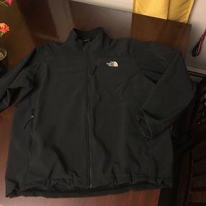 MENS NORTH FACE Black jacket sz XXL